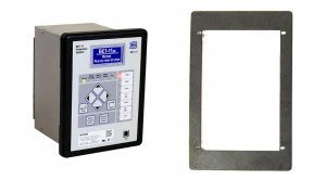 Mounting plate to match Multilin 369/269 non-drawout retrofit, Basler p/n: 9424200074